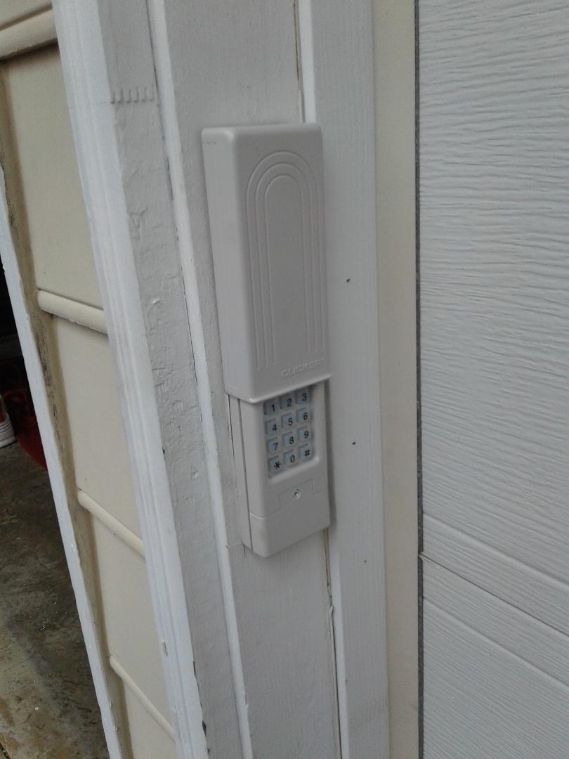 Huntersville, NC - Keypad installed