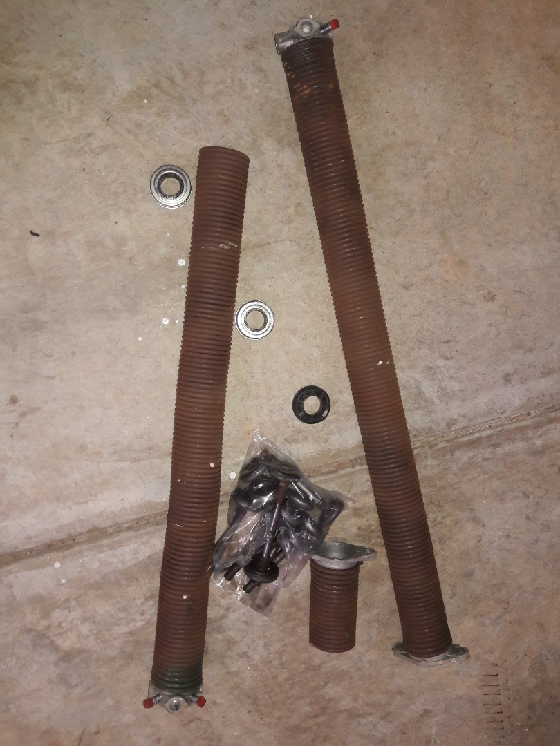 Indian Trail, NC - replaced springs, bearing plates, and rollers