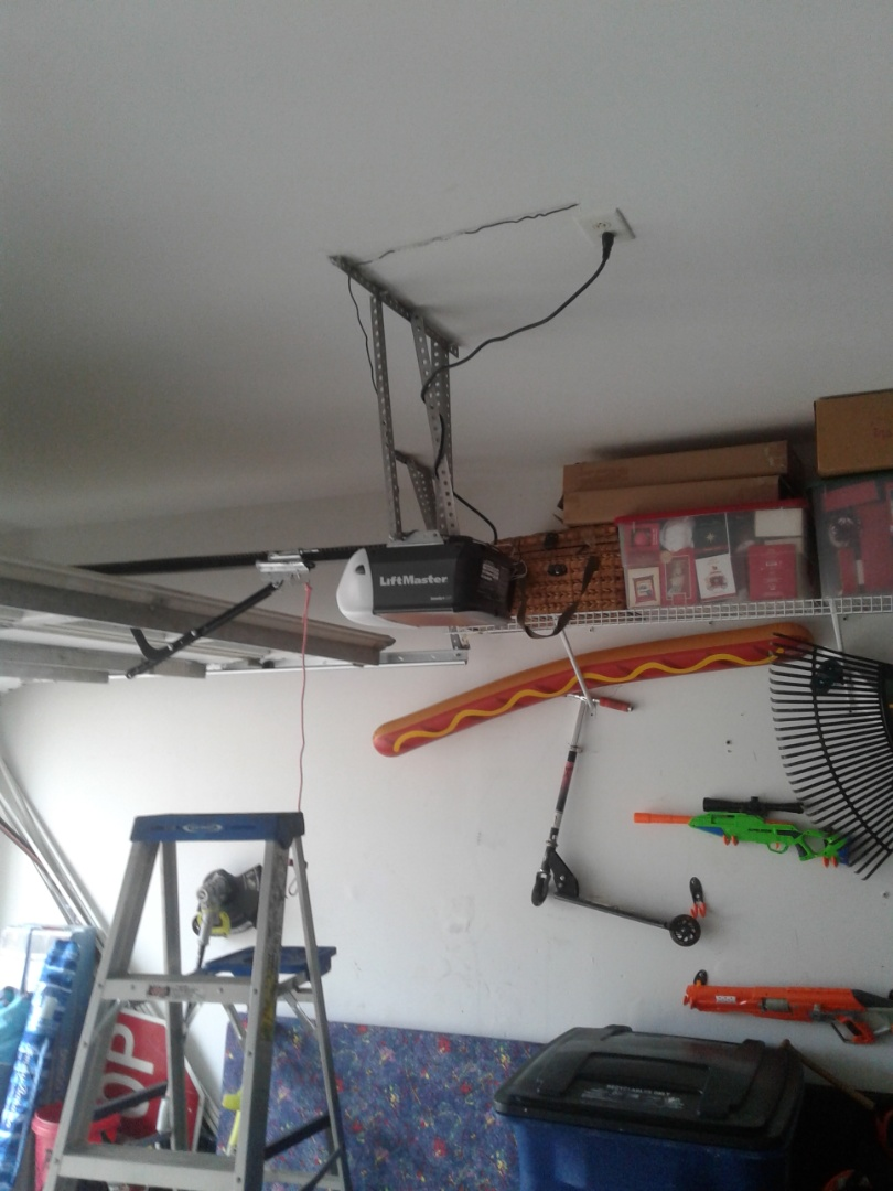 Stallings, NC - Opener installation