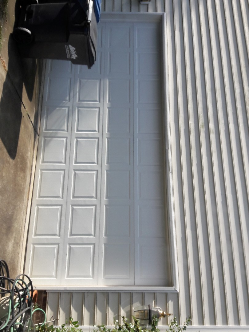 Waxhaw, NC - replaced top panel