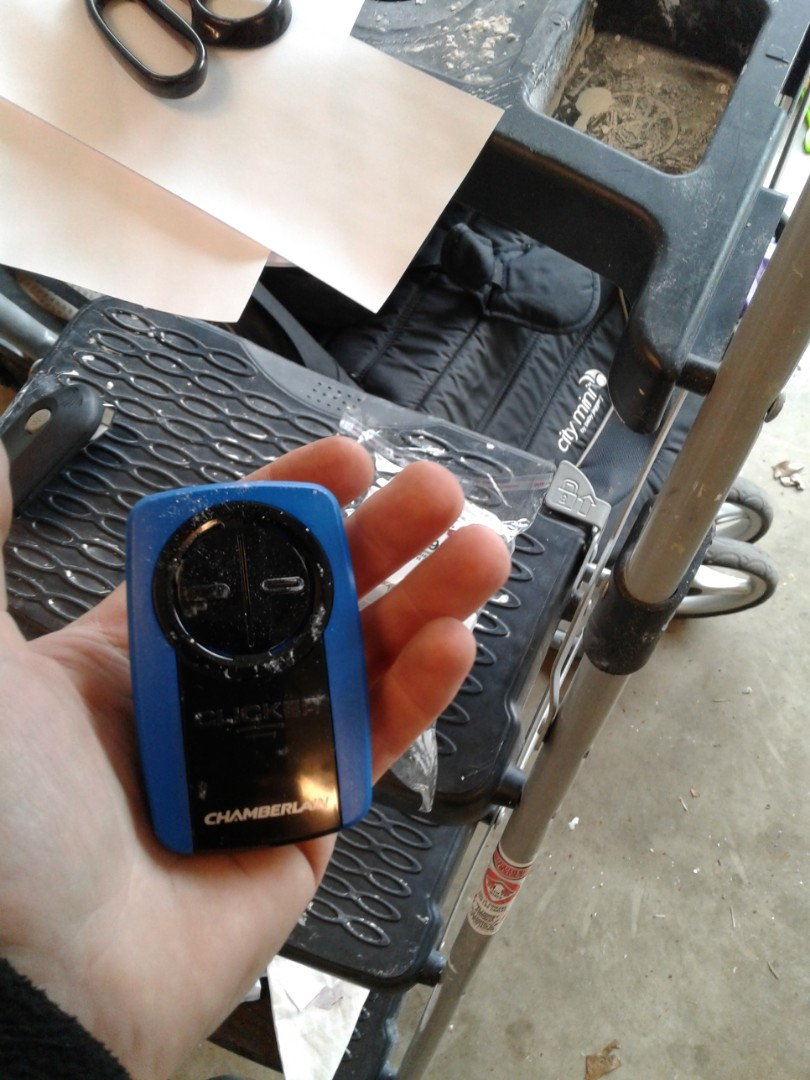 Universal remote Door tune up