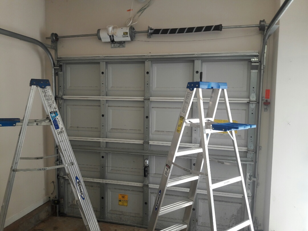 Indian Land, SC - adjusted cables and set door limit