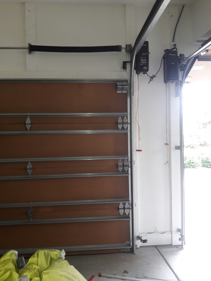 Fort Mill, SC - balanced and adjusted the garage door