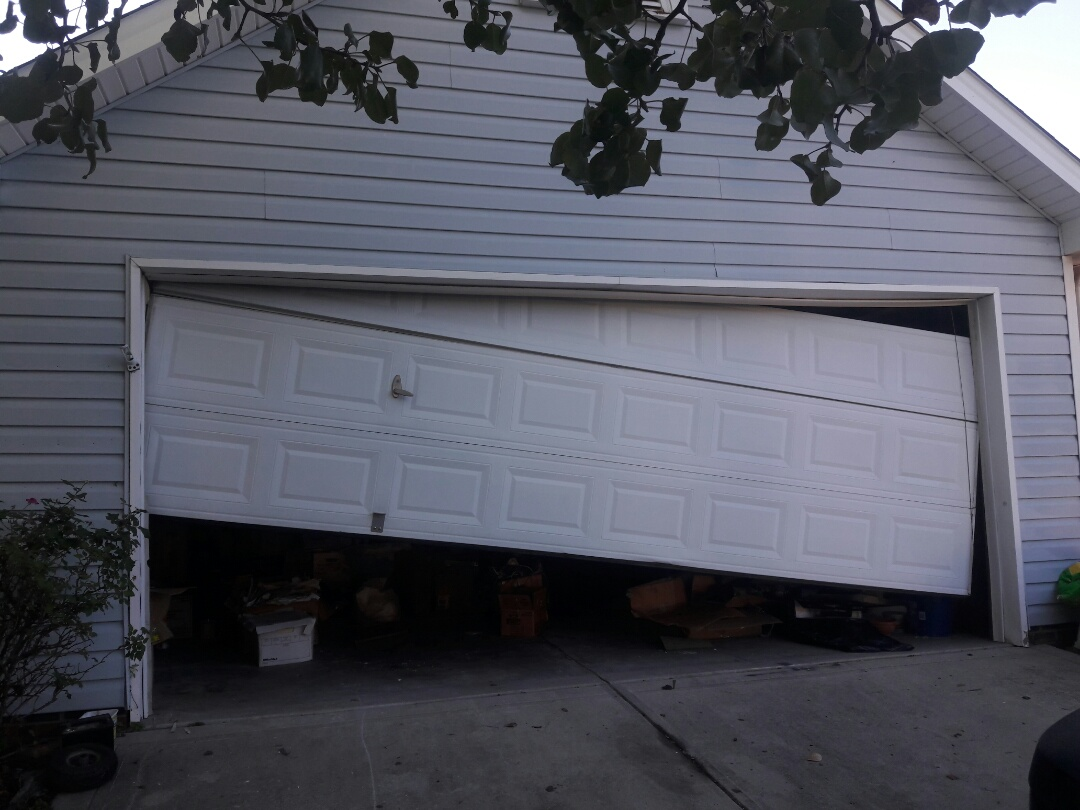 Concord, NC - adjusted door and installed new opener