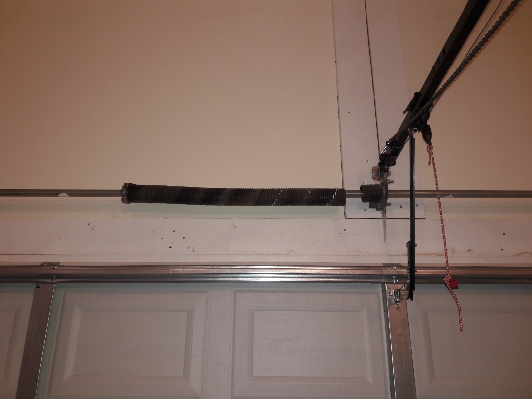 Indian Trail, NC - replaced torsion spring