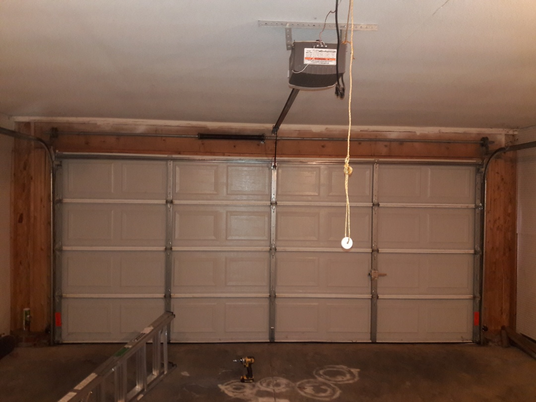 Rock Hill, SC - Adjusted door, replaced bearing plates and brackets.