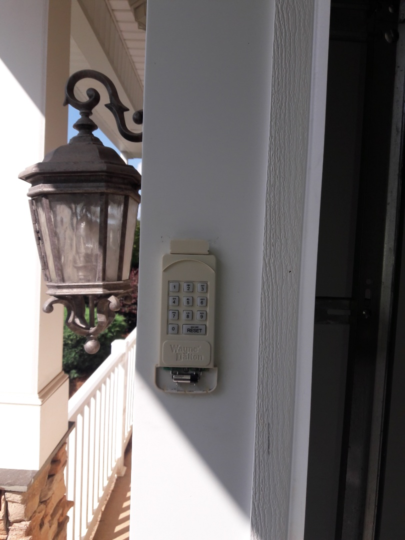 Rock Hill, SC - replaced keypad