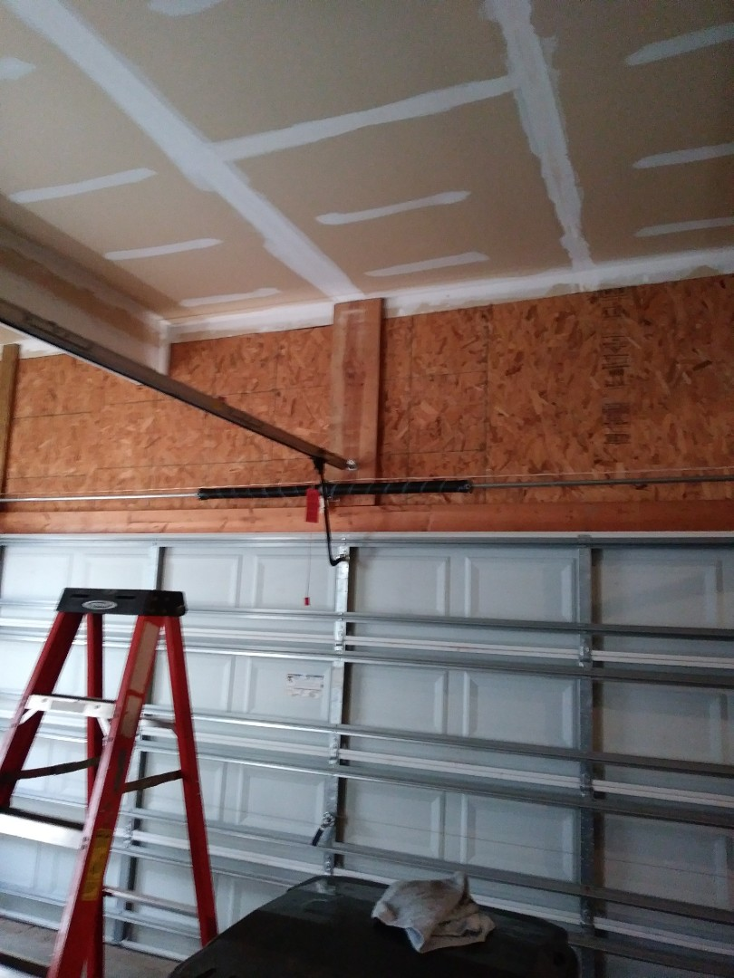 Huntersville, NC - Replaced 2 torsion springs