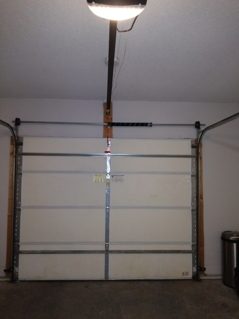 Belmont, NC - Replaced torsion spring