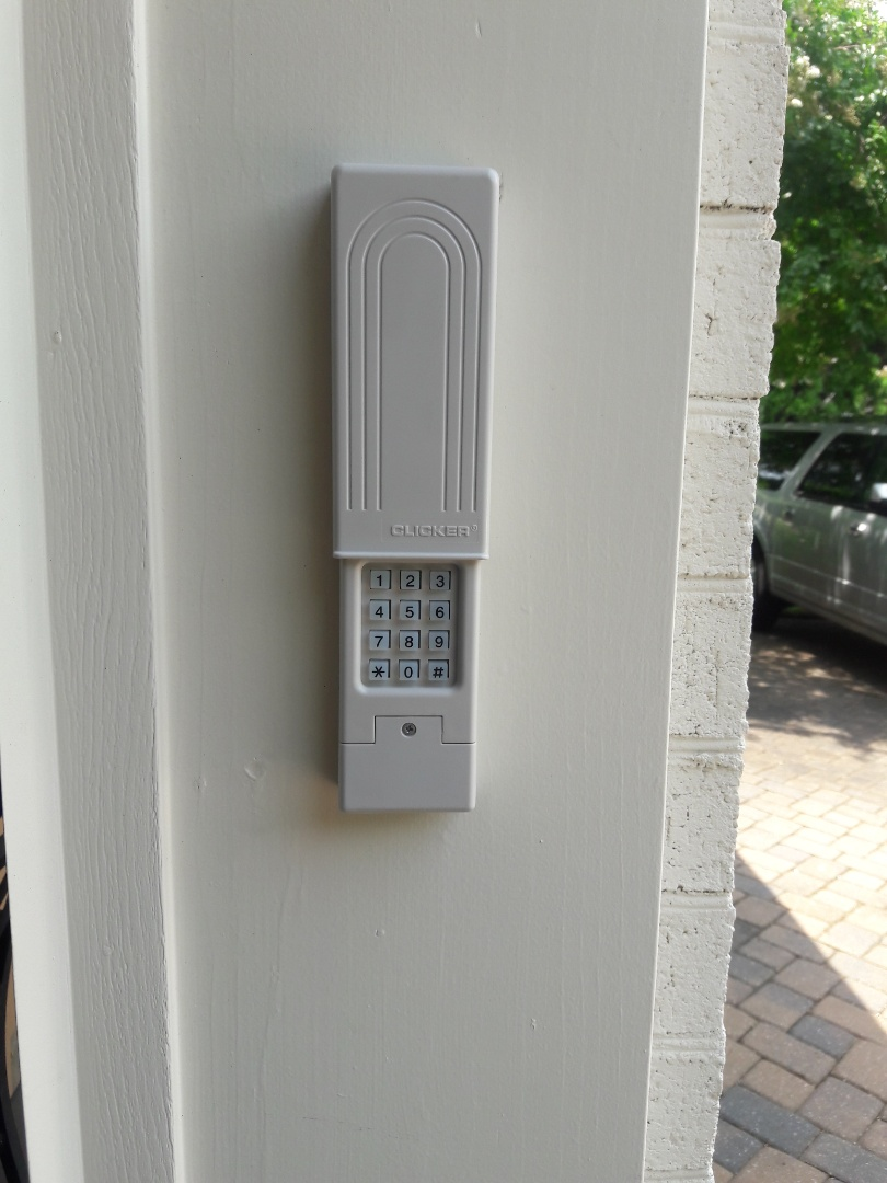 Charlotte, NC - Installed keypad