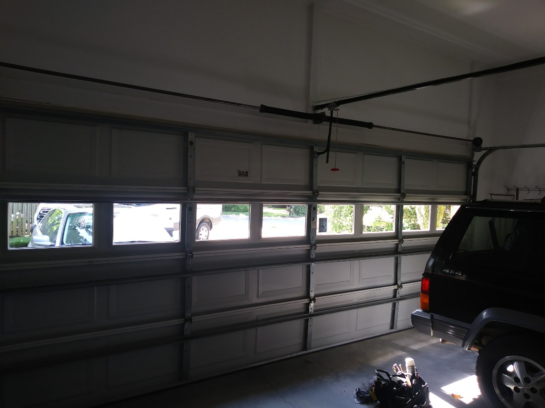 Rock Hill, SC - Installed new strut, rollers