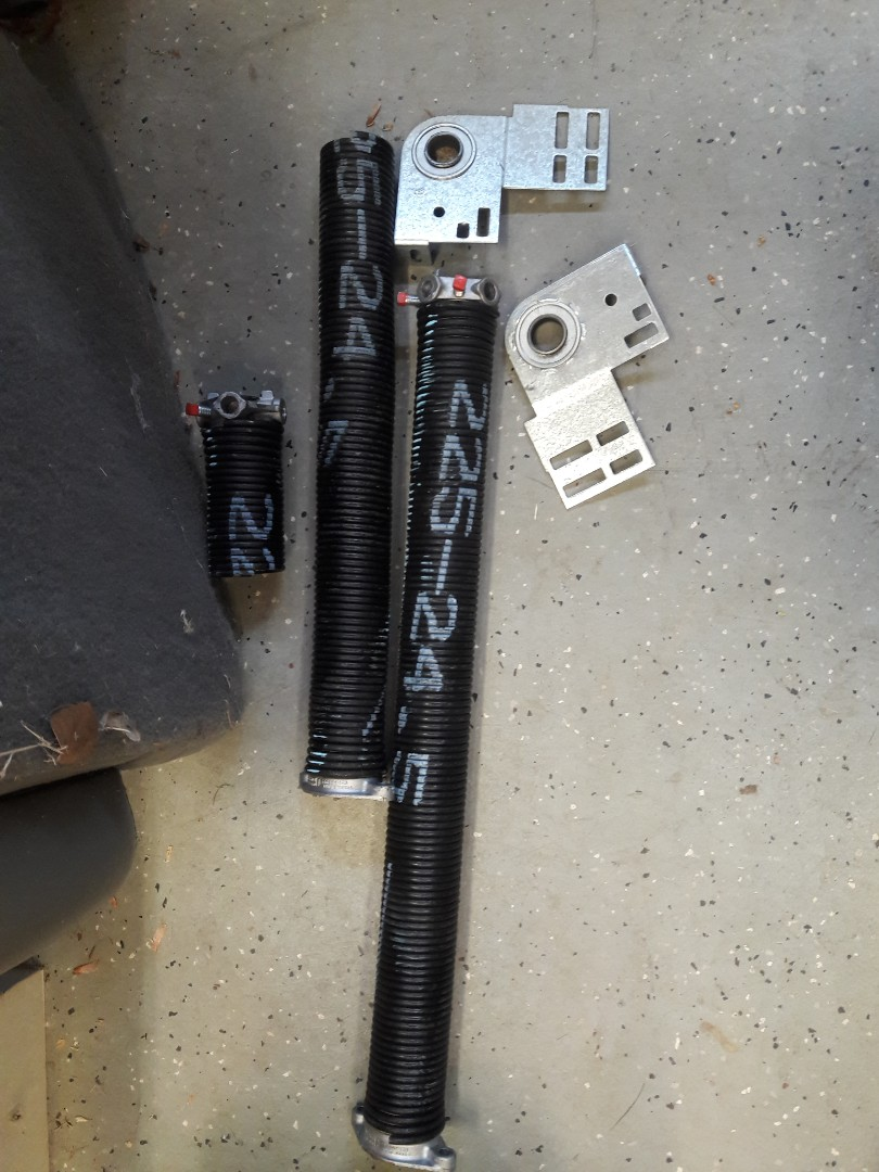 Mooresville, NC - replaced springs and bearing plates