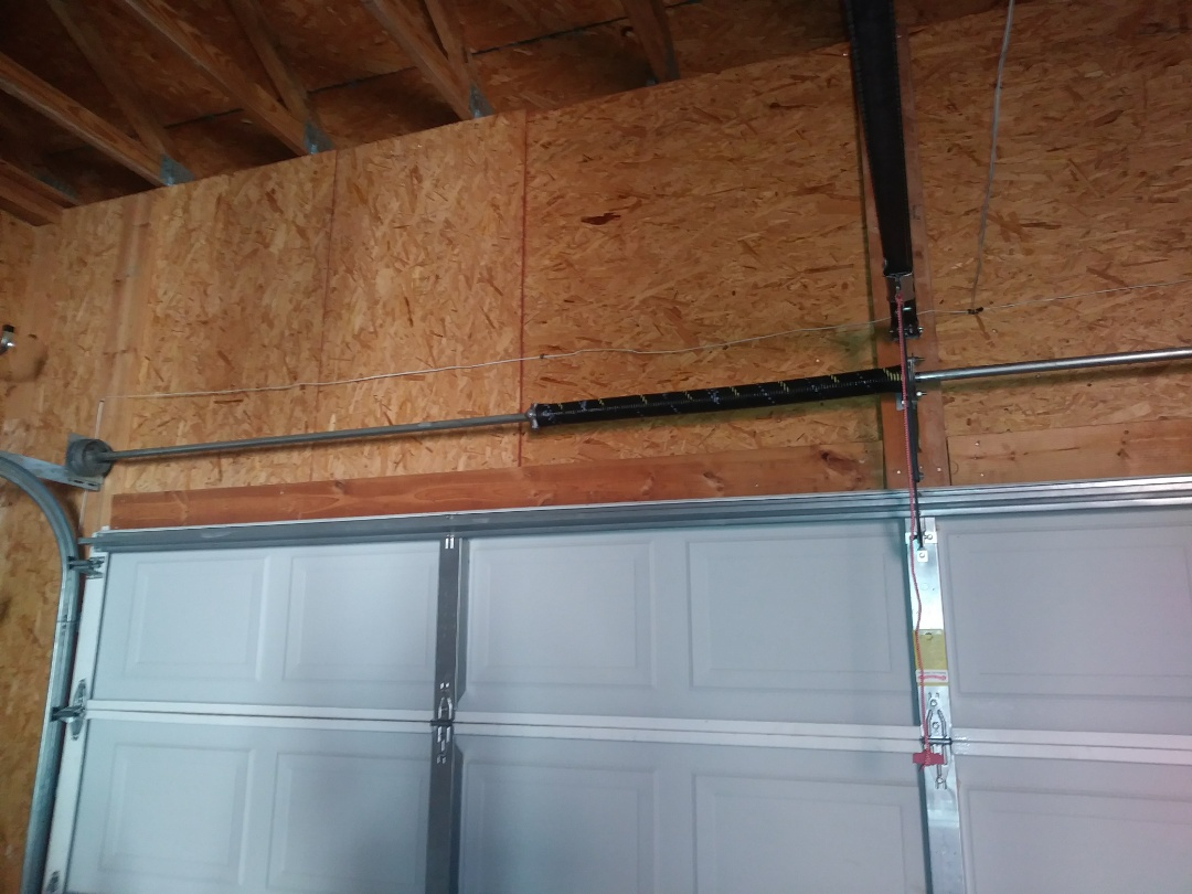 Fort Mill, SC - Replaced torsion spring