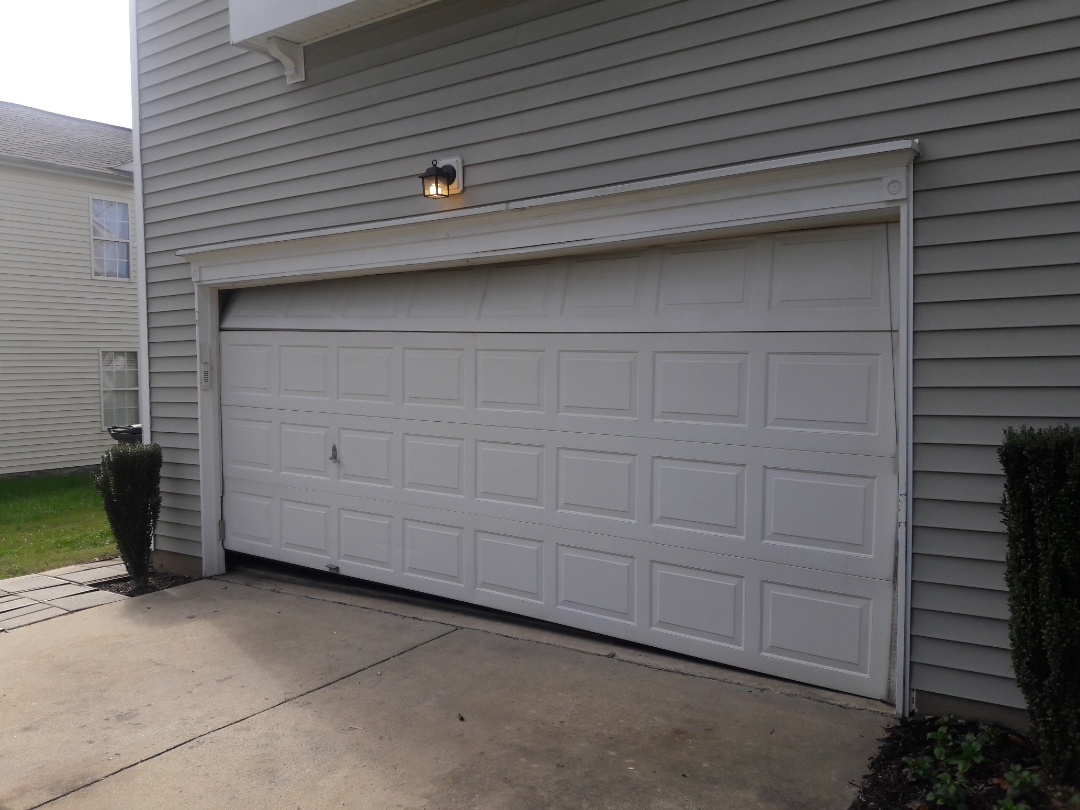 Charlotte, NC - balanced door and replaced rollers