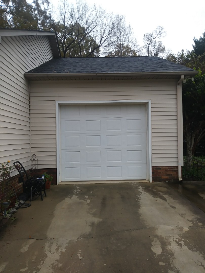Kannapolis, NC - New door and opener estimate