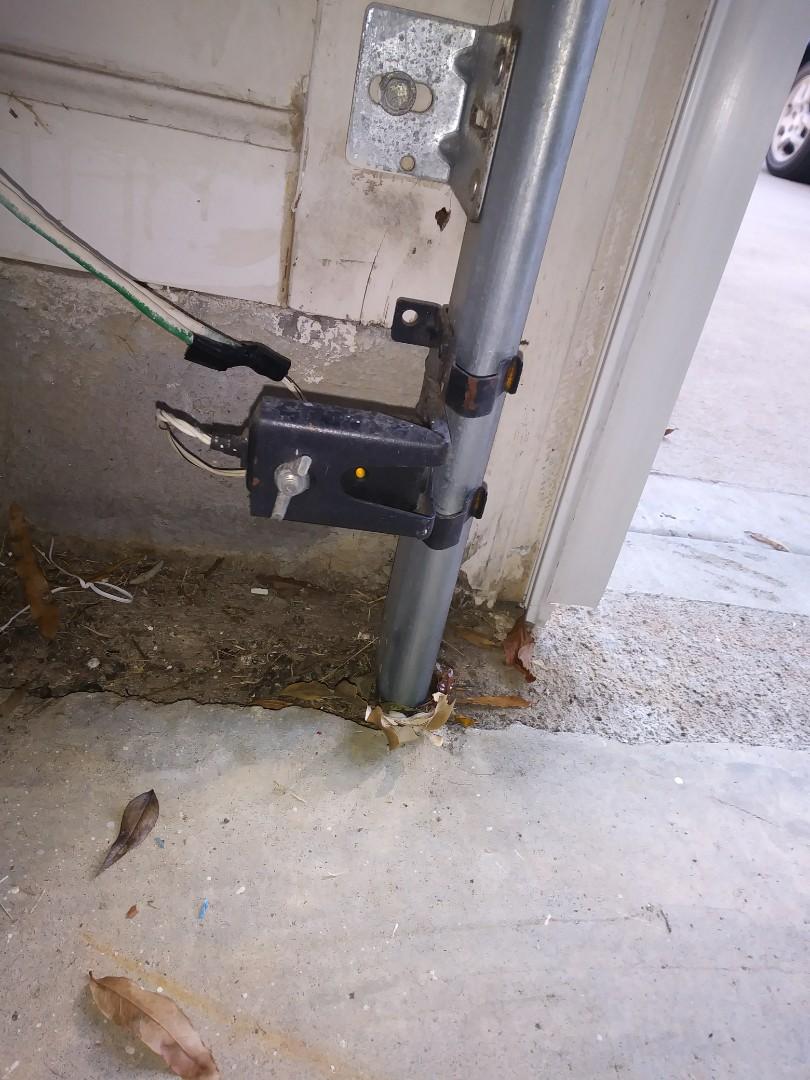 Matthews, NC - Re wired sensors