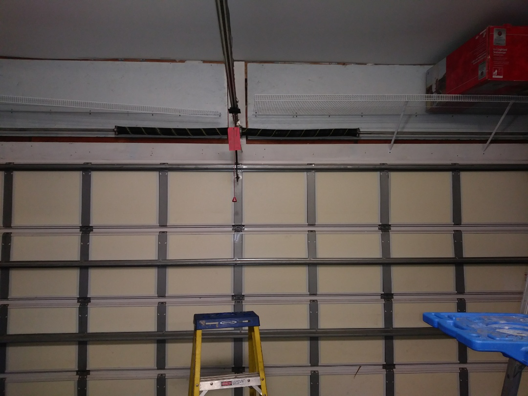 Huntersville, NC - Replaced torsion springs
