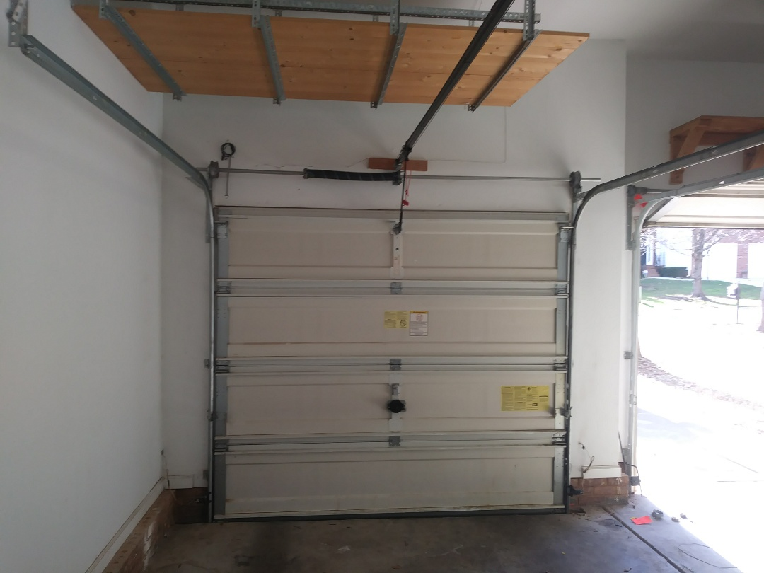 Charlotte, NC - Replaced torsion spring system