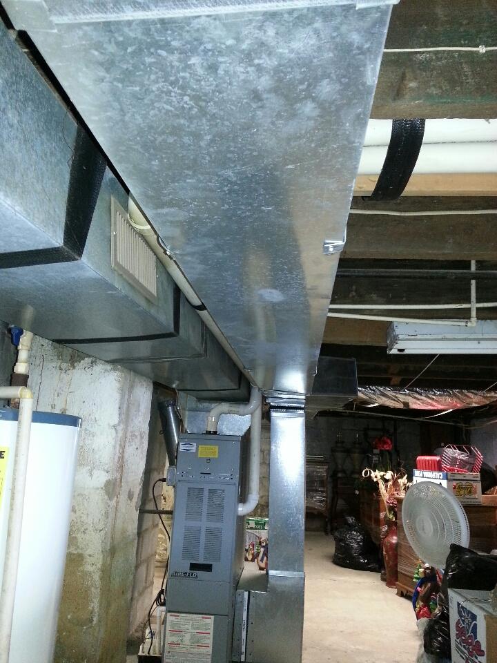 Essex, MD - Ductwork repair in Essex