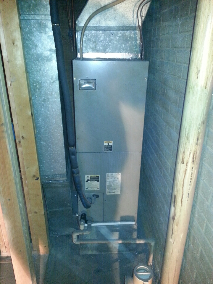 Reisterstown, MD - Replace air handler and heat pump in Reisterstown