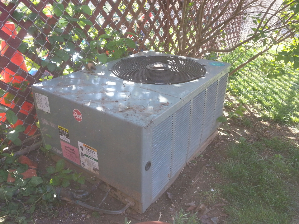 Baltimore, MD - Repair Rheem air conditioner in Hamden.