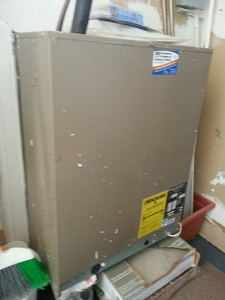Perry Hall, MD - AC repair service. Replaced capacitor.