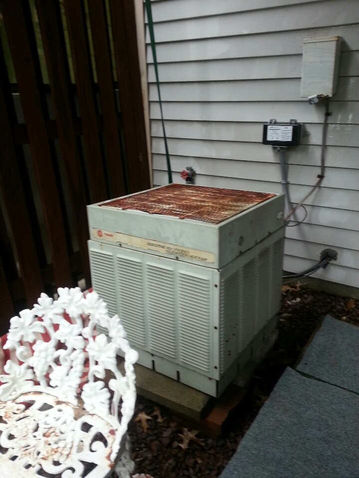 Nottingham, MD - Heat pump maintenance call.