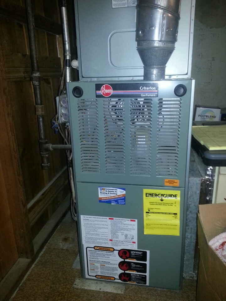Towson, MD - Furnace repair.