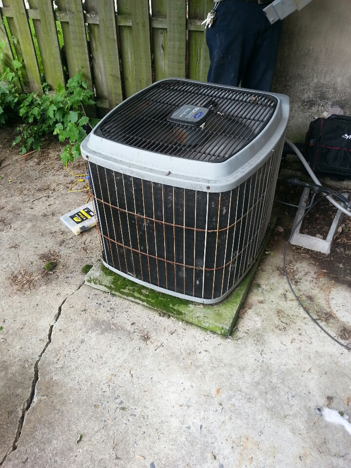 Nottingham, MD - ac service c allm Repair air conditioner.