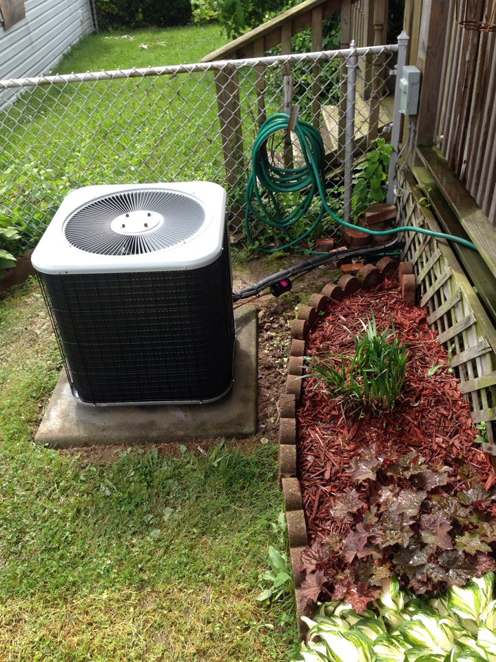 Essex, MD - AC installation on lennox air conditioner. Made repairs on disconnect, wiring, and copper tubing.