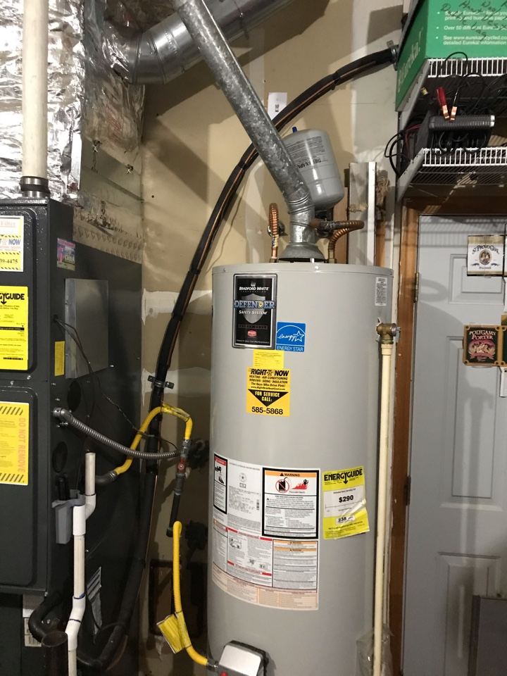 Installing a 50 gal gas water heater and a SuperPure Elite Water Softener