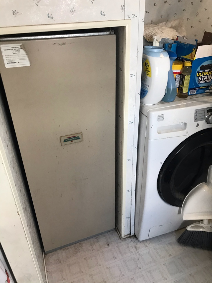 Replacing old Coleman Furnace and installing an Amana Heat Pump system