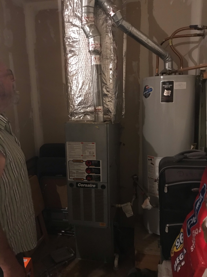Replacing old Crossaire System with an Amana furnace and air conditioner