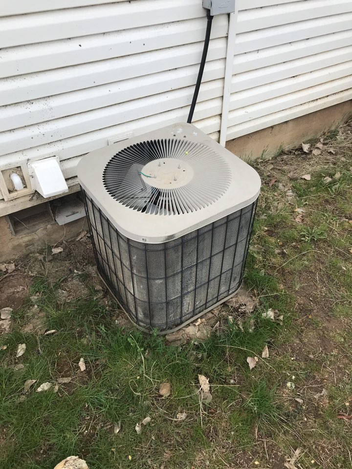 Replacing old Goodman air conditioner with an Amana air conditioner