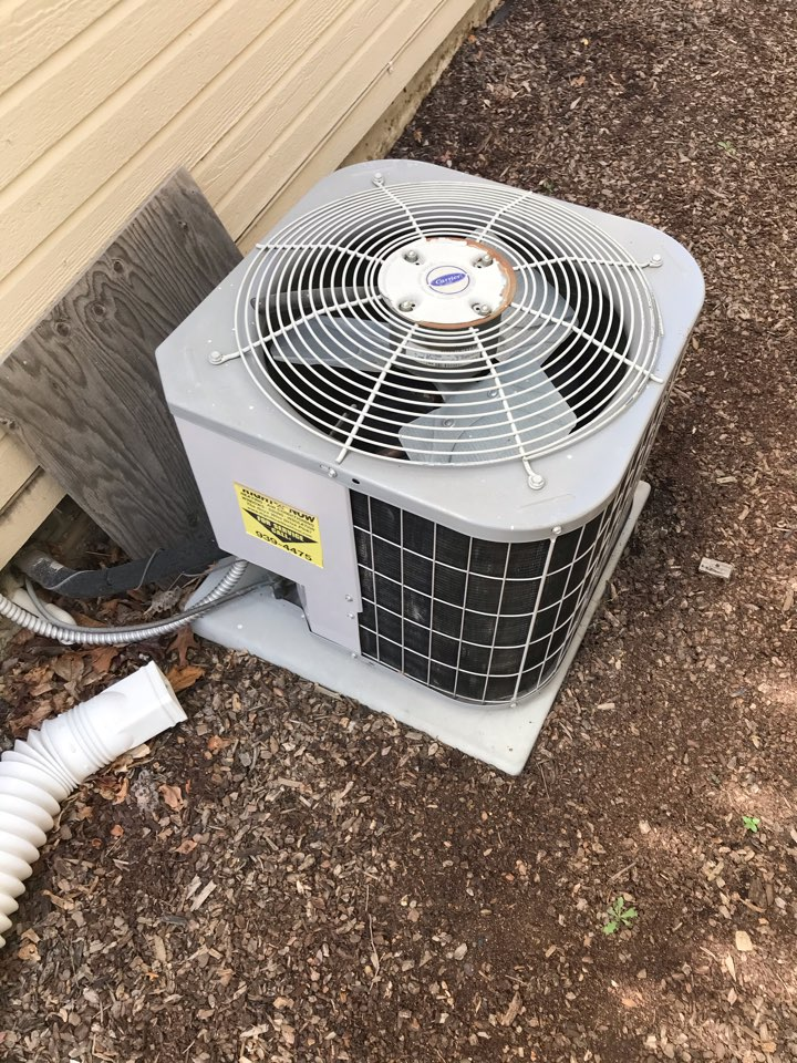 Replacing old carrier air conditioner with an Amana air conditioner
