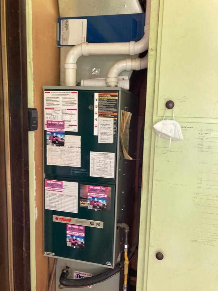 Updating Trane furnace -