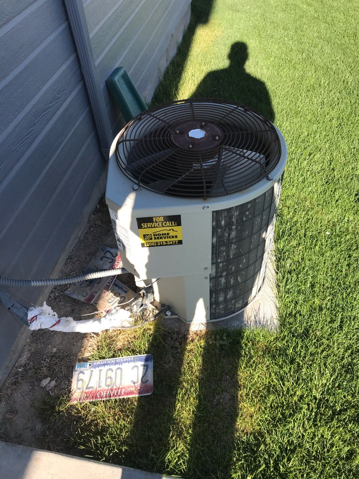 Replacing old Payne air conditioner with a Rheem air conditioner