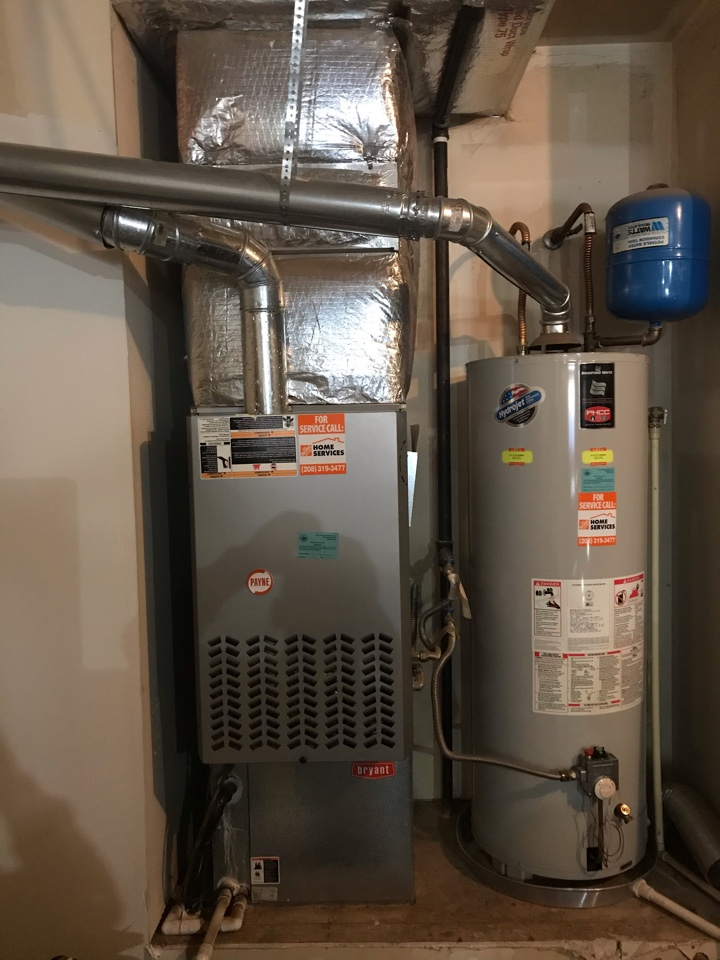Replacing old Payne Furnace and Air Conditioner with an Amana Furnace and Air Conditioner