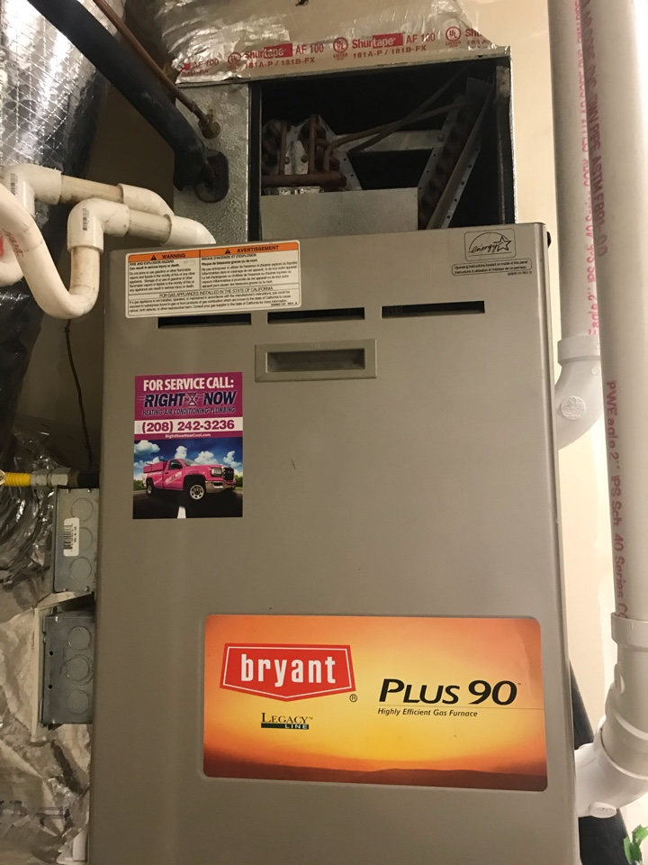 Complete furnace & a/c safety check along with a rock star tune up