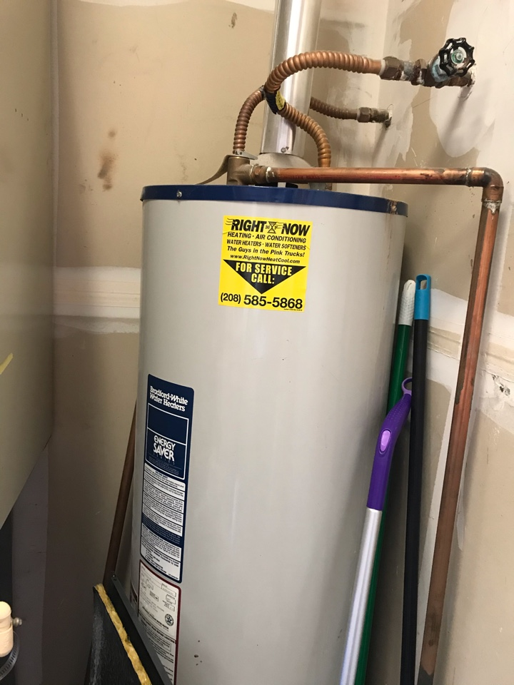 40 gal gas water heater replacement