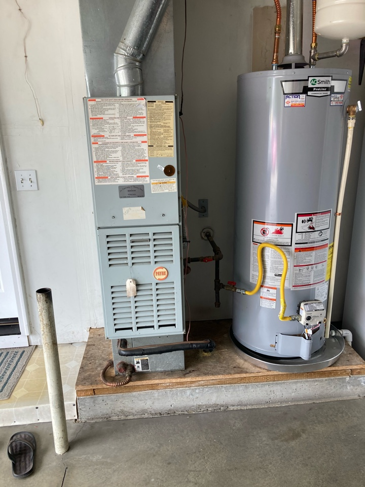 Replacing furnace and AC..