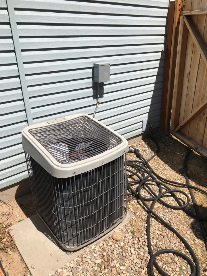 Estimate to replace existing Carrier HVAC system with new Amana furnace and air conditioner and water softener