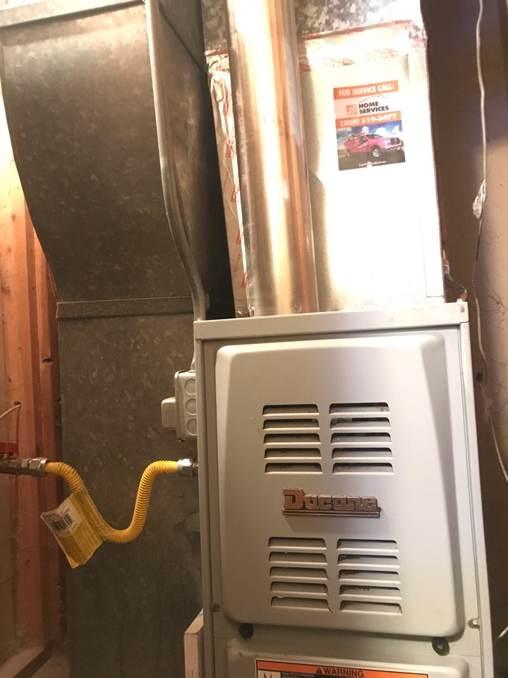 Complete furnace tune water heater flush and a/c options