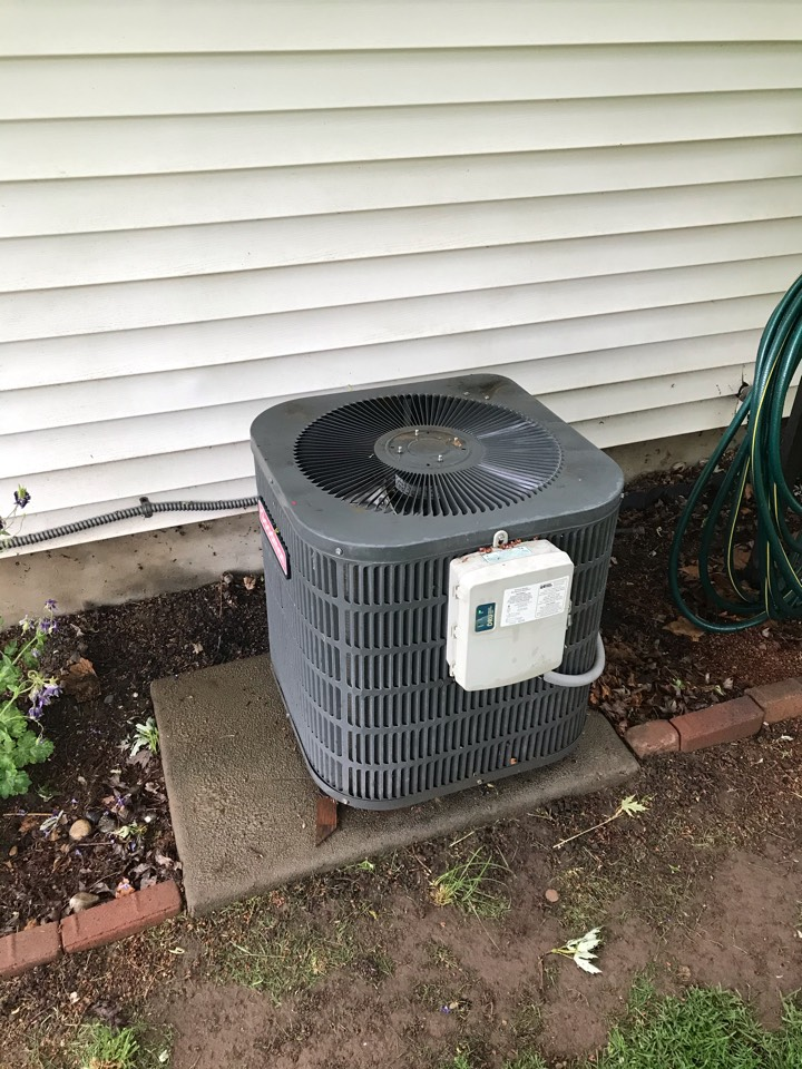 Estimate to replace old Goodman Ac with an Amana Heat Pump