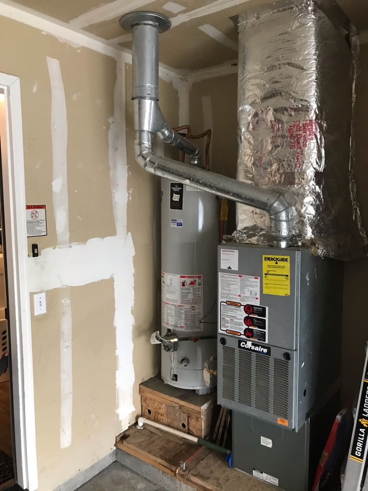 Estimate to replace existing Corsair HVAC system with new Amana furnace and air conditioner