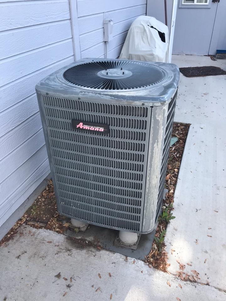 Replacing old heat pump with an Amana Heat Pump