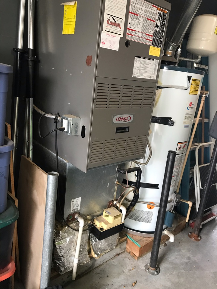 Replacing old Lennox furnace and air conditioner with an Amana furnace and air conditioner