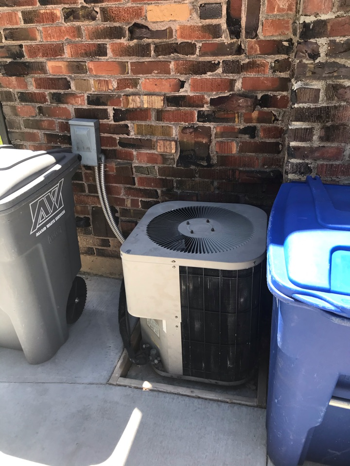 Estimate to replace existing Carrier HVAC system with new Amana furnace and air conditioner and water heater