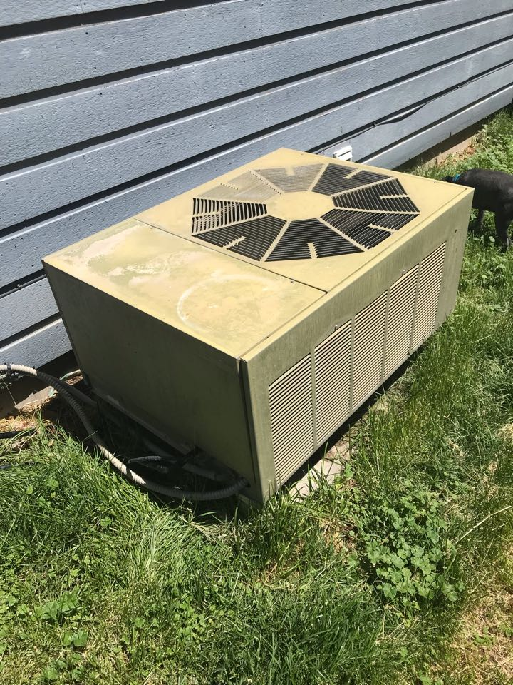 Replacing old electric system with an Amana gas variable speed blower furnace, an Amana Air Conditioner, Evap Coil, 50 gal Heat Pump water heater, and a water softener and conditioner