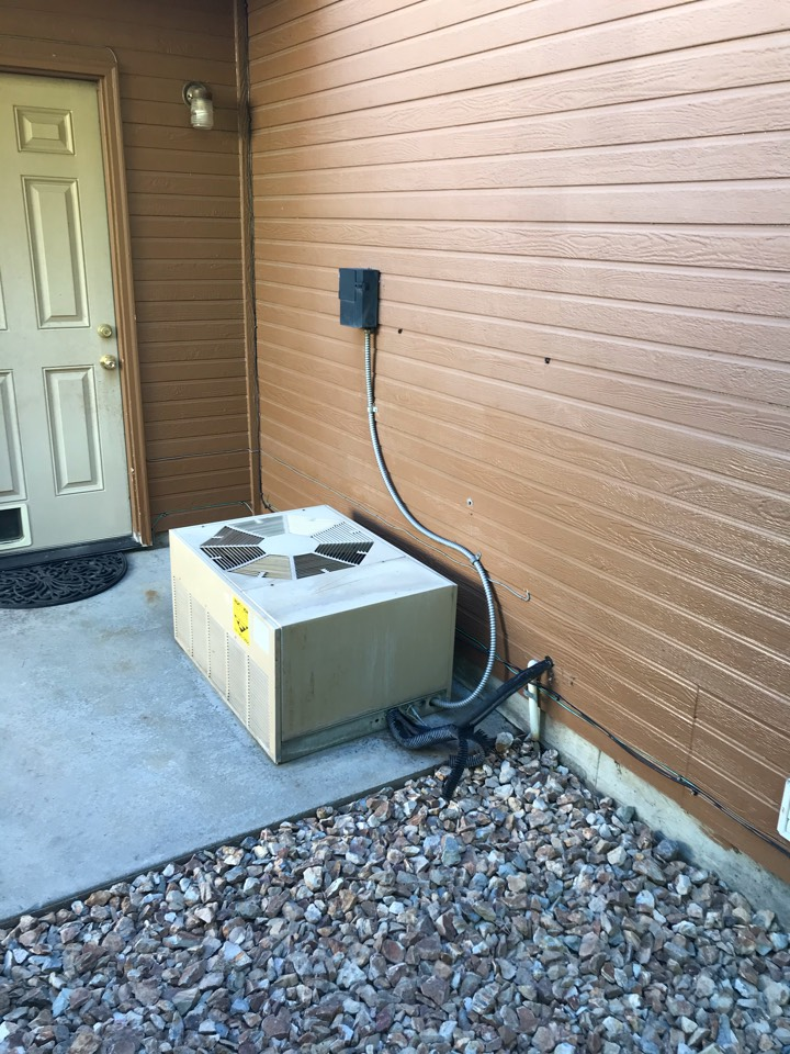 Estimate to replace existing RUUD HVAC system with new Rheem furnace and air conditioner